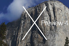 Вышла OS X 10.10 Yosemite Preview 4