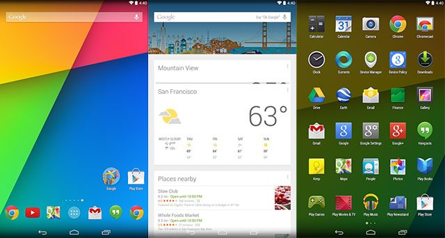 Google Now Launcher,