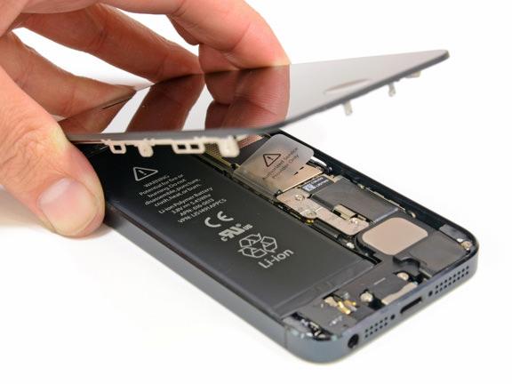 apple замена батареи iphone 5