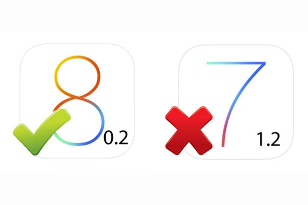 Apple перестала подписывать прошивку iOS 7.1.2, возможность отката на iOS 8 закрыта