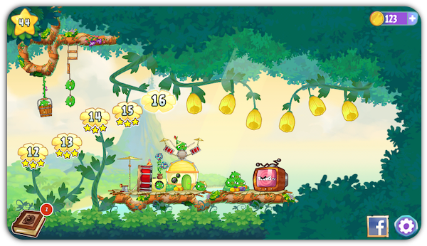 Angry Birds Stella 3