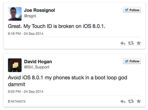 Twitter iOS 8.0.1