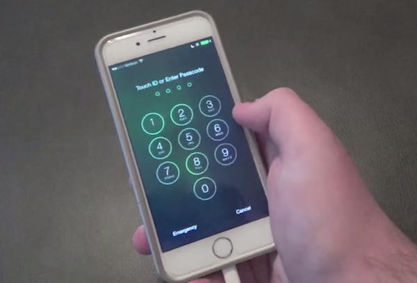 iOS 8 обход пароля