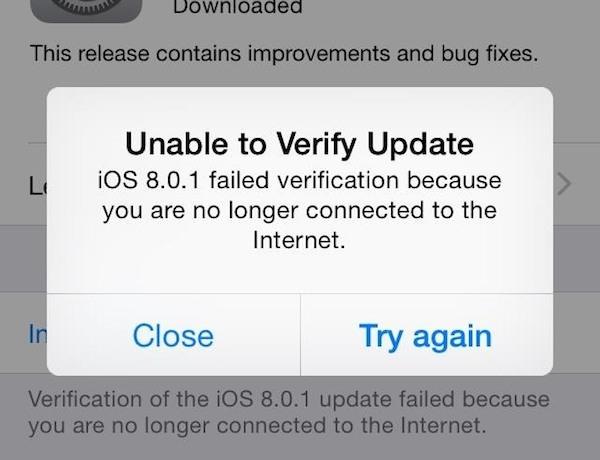 iOS 8.0.1 1