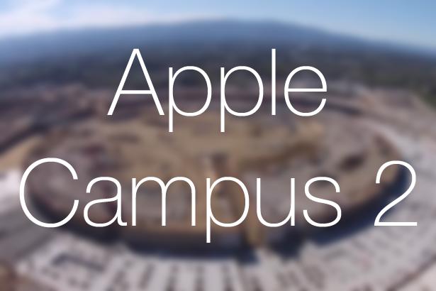 Новое видео со стройки штаб-квартиры Apple Campus 2