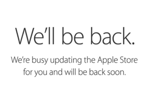 Apple Online Store был закрыт на техническое обслуживание в преддверии выхода новых iPad и iMac