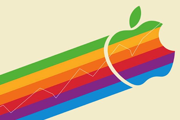 Акции Apple достигли рекордной стоимости: $104 за штуку