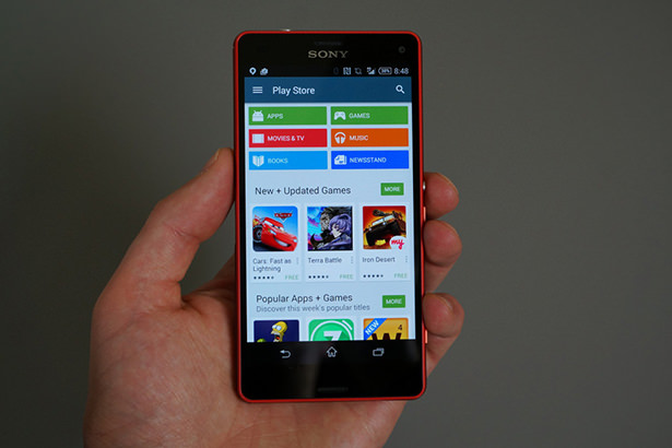 Google Play обновился до версии 5.0.31 и получил дизайн в стиле Material из Android L