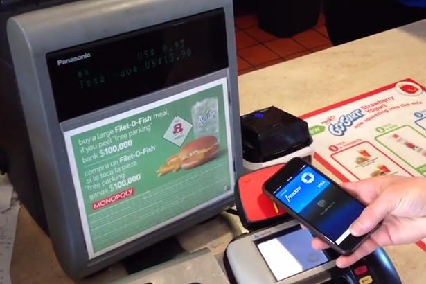 Блогер продемонстрировал работу Apple Pay в McDonald's