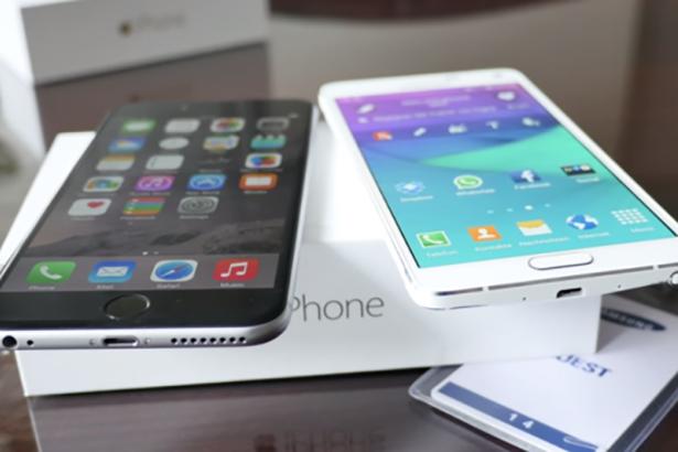 Эксперты сравнили время автономной работы Samsung Galaxy Note 4 и iPhone 6 Plus