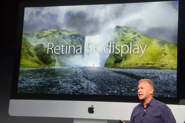 Apple представила iMac Retina 5K с самым большим разрешением в мире