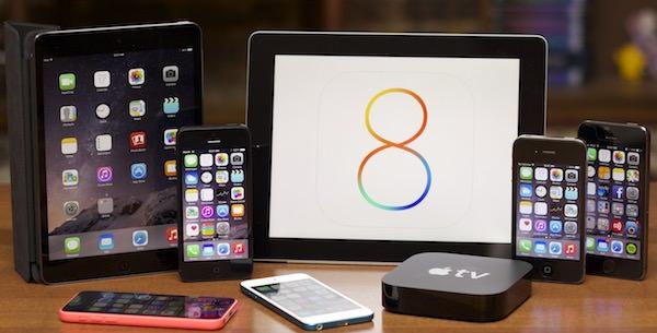 iOS 8 айфон