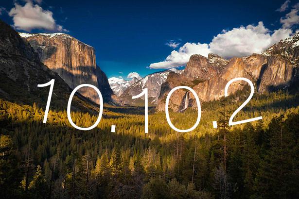 Apple выпустила первую тестовую версию OS X 10.10.2 для разработчиков