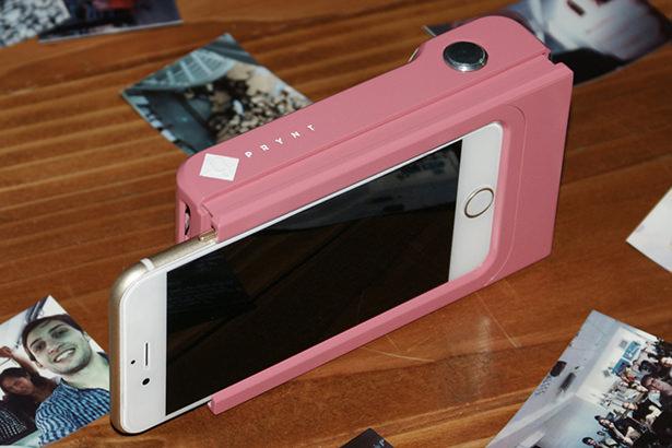 Чехол Prynt позволит превратить iPhone или Android-смартфон в Polaroid