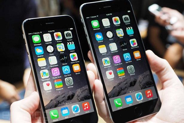 iPhone 6 продается в три раза лучше iPhone 6 Plus
