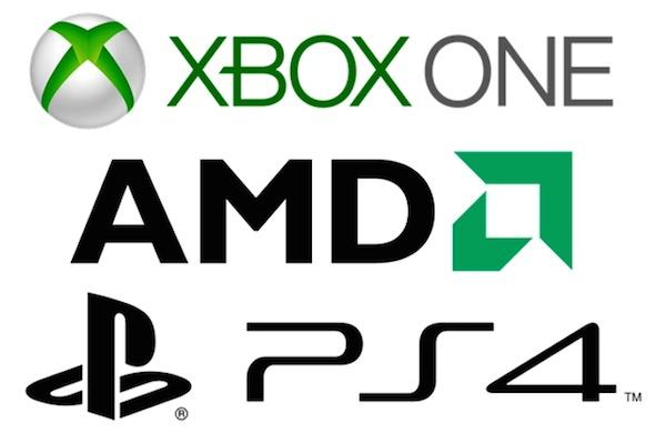 AMD PS4 XBOX One Slim