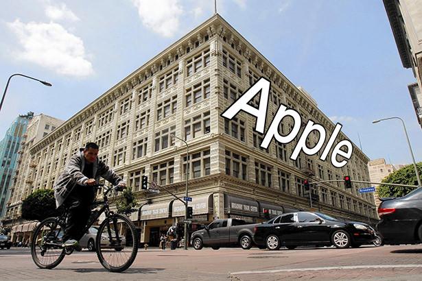 Apple собирается открыть самый большой Apple Store в историческом здании Лос-Анджелеса