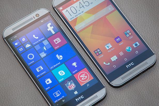 HTC будет выпускать смартфоны только на Android и Windows Phone