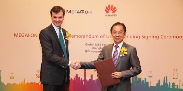 Huawei и МегаФон