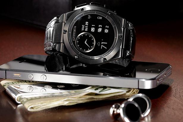 HP представила смарт-часы MB Chronowing с классическим внешним видом