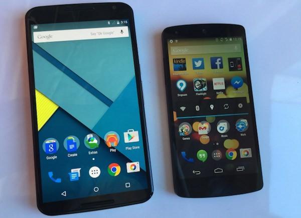 Nexus 6 Nexus 5