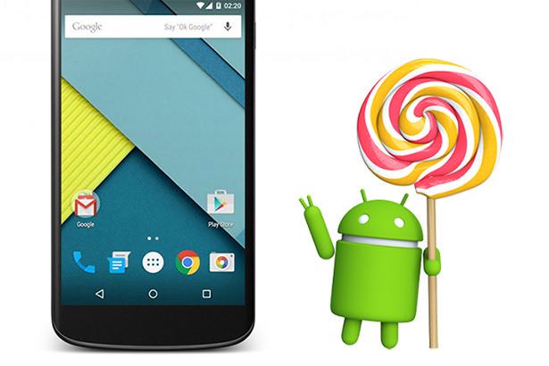 Смартфон Nexus 4 получил финальную версию Android Lollipop от Google