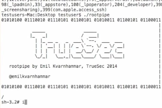 В OS X Yosemite найдена критическая уязвимость
