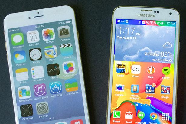 Владельцы смартфонов на Android не переходят на iPhone 6 и iPhone 6 Plus