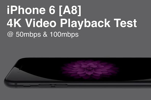 iPhone 6, iPhone 6 Plus и iPad Air 2 поддерживают воспроизведение 4K видео