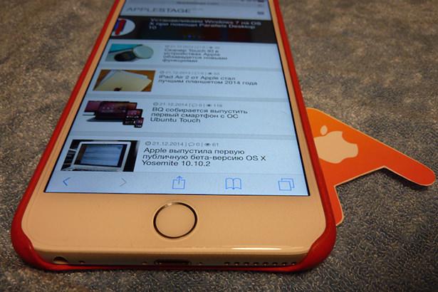 Обзор защитной пленки Spigen SGP Steinheil Flex HD для iPhone 6 Plus