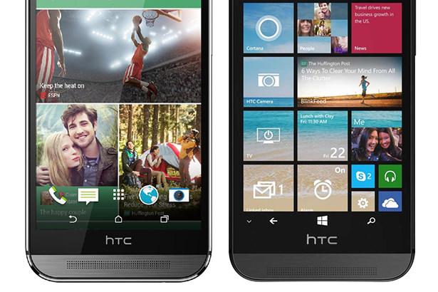 HTC выпустит флагманский смартфон M9 c Android и Windows Phone
