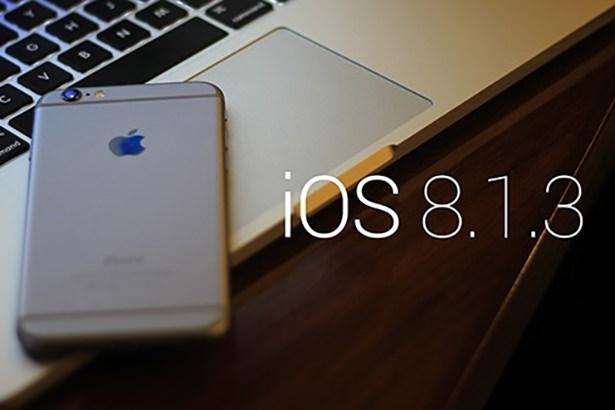 Apple готовится к выпуску iOS 8.1.3 для iPhone, iPad и iPod Touch