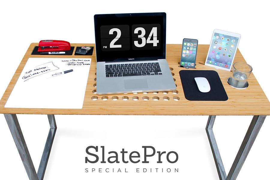 SlatePro TechDesk SE — iSkelter представила второе поколение лучшего стола для Mac, iPhone и iPad
