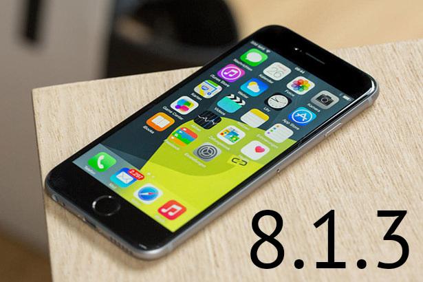 Сравнение скорости работы iOS 8.1.2 и iOS 8.1.3 на iPhone 4s