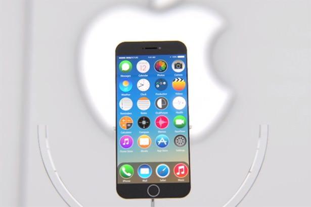 Концепт iPhone 7 с круглыми иконками в iOS 9