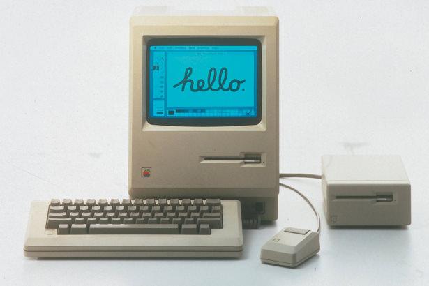 Концепт первого поколения Macintosh в современным дизайне 2015 года