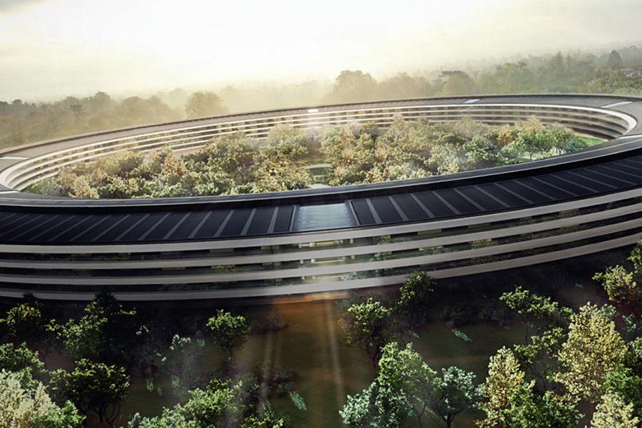 Apple опубликовала официальные фотографии со стройплощадки Apple Campus 2
