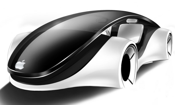Apple iCar Car Tesla Russia 2