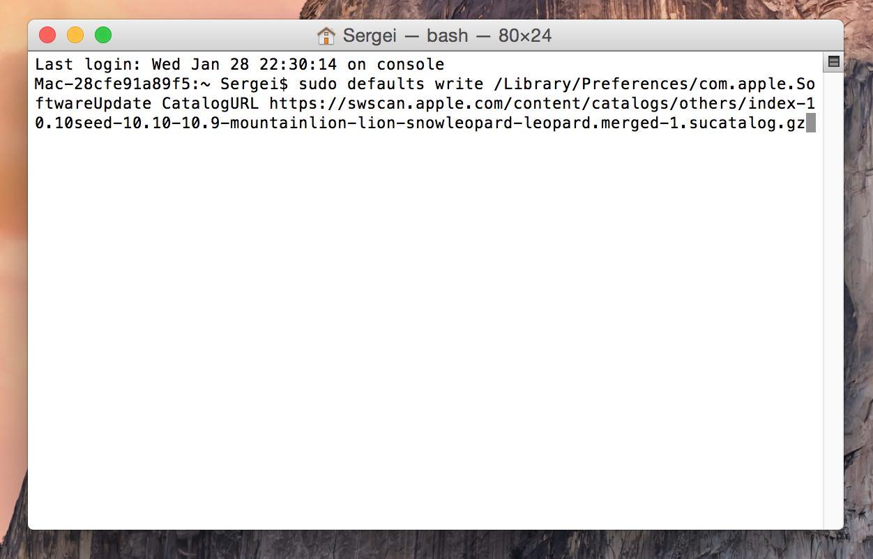 Mac App Store update OS X 10.10.3 free user Russia