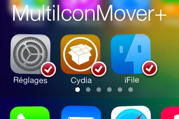 Твик MultiIconMover+ позволяет массово перемещать иконки и папки в iOS 8