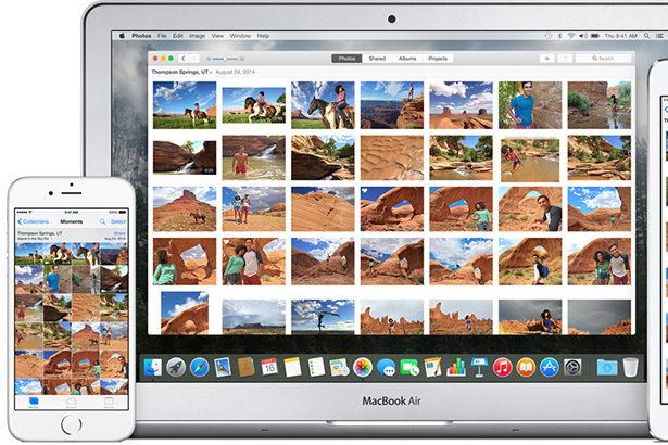 Мнения интернет-изданий о новом приложении «Фото» в OS X 10.10.3