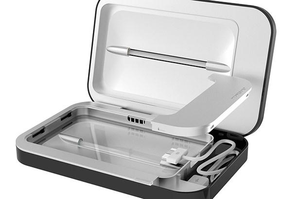 Зарядная установка PhoneSoap очищает iPhone от бактерий во время зарядки