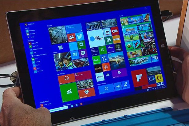 Скриншоты Windows 10 для смартфонов попали в сеть
