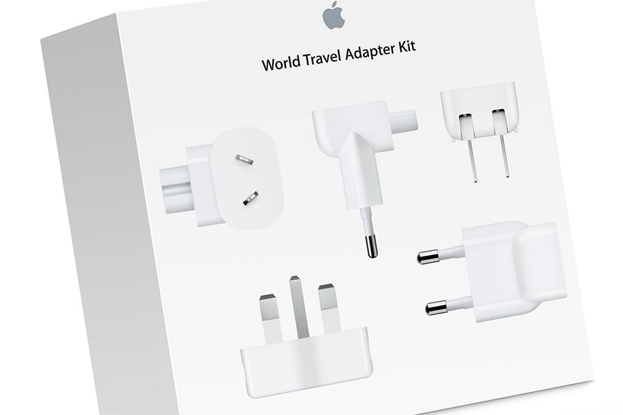 Apple обновила комплект сетевых адаптеров World Travel Adapter Kit