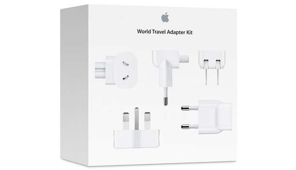 World Travel Adapter Kit Russia USA Bue Apple Store