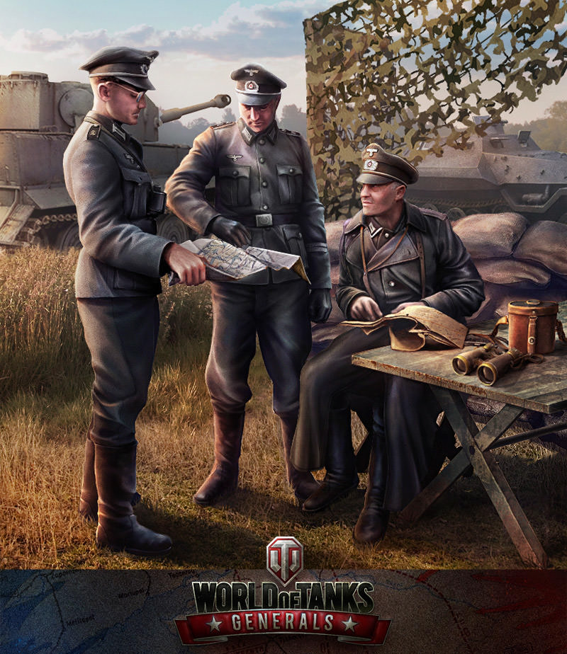 World of Tanks Generals iOS Android Apple Google Wargaming