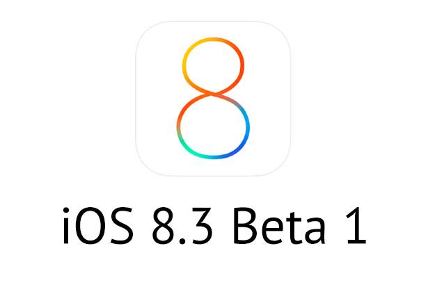 Состоялся релиз первой бета-версии iOS 8.3 для iPhone, iPad и iPod Touch