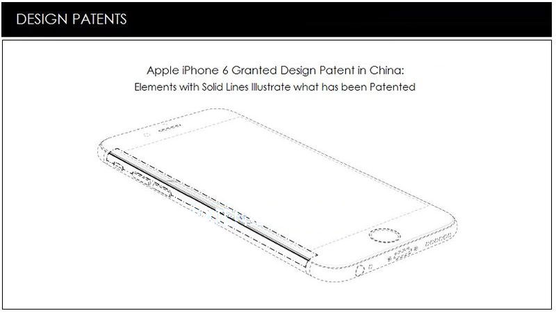 iPhone 6 Apple Patent Samsung Russia China USA 1