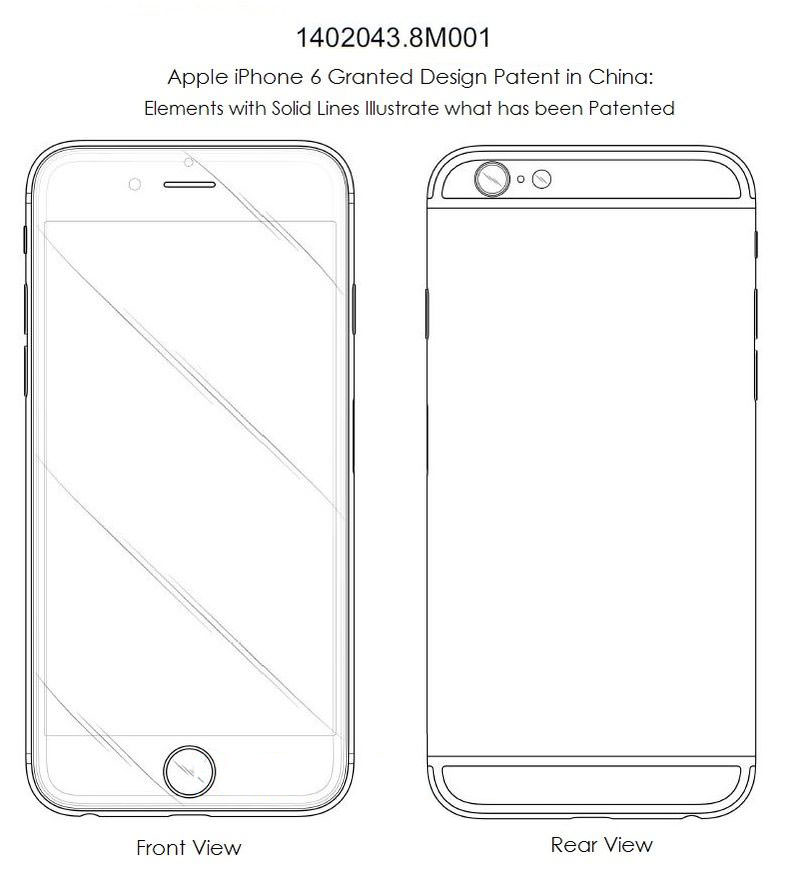 iPhone 6 Apple Patent Samsung Russia China USA 2