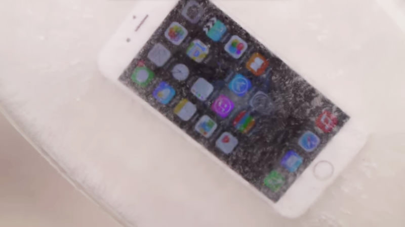iPhone 6 Plus Russia crach-test USA peace 2